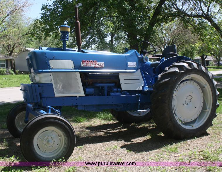 Ford 6000 Diesel Tractor : Ford tractor item b sold may ag