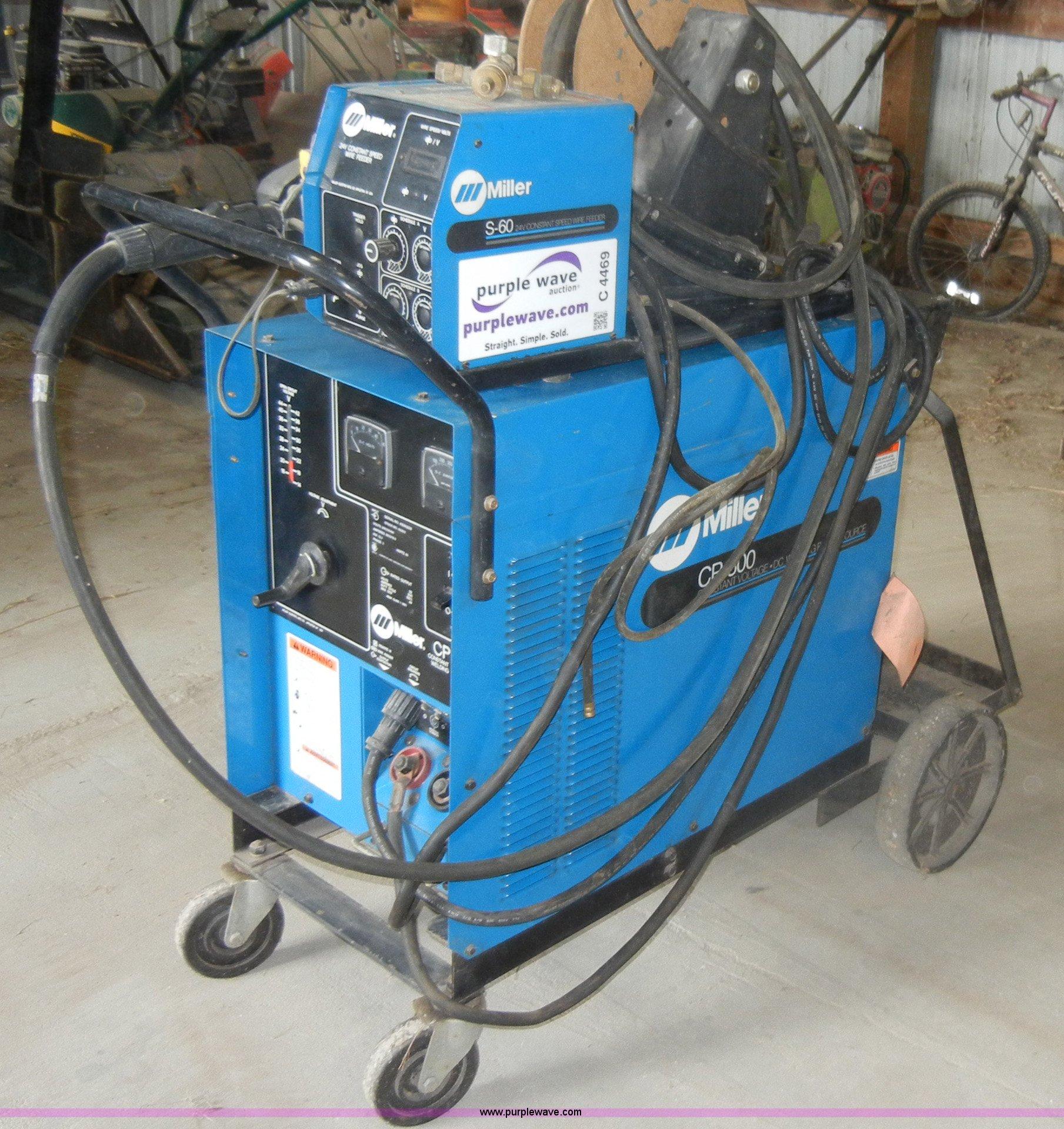 Miller S60 constant speed wire feed arc DC welder | Item C44...