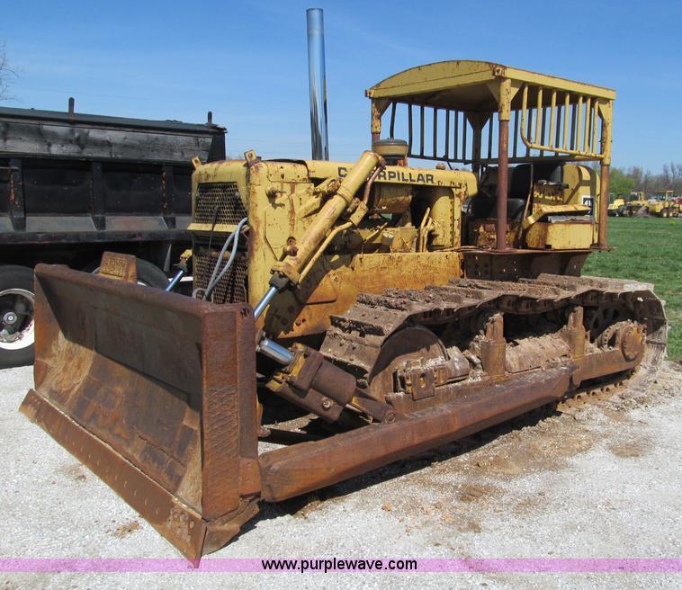 D3183 1965 caterpillar d6c dozer item d3183 sold! may 10 heavy Caterpillar D6C 10K at gsmx.co