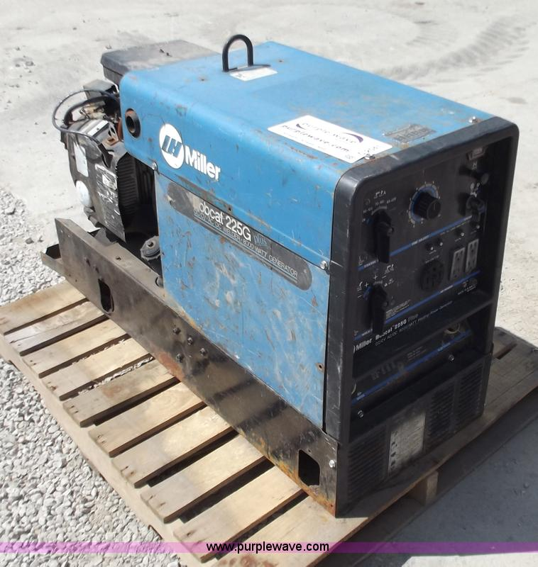 Miller Welders For Sale >> Miller Bobcat 225g Plus Welder Generator Item C2041 Sold