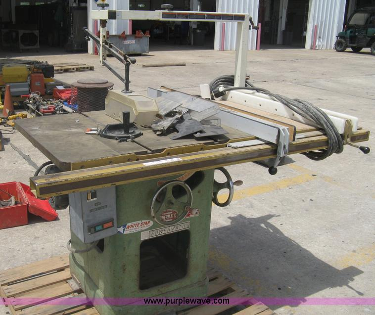 Powermatic 66 commercial table saw | Item G9948 | SOLD! May