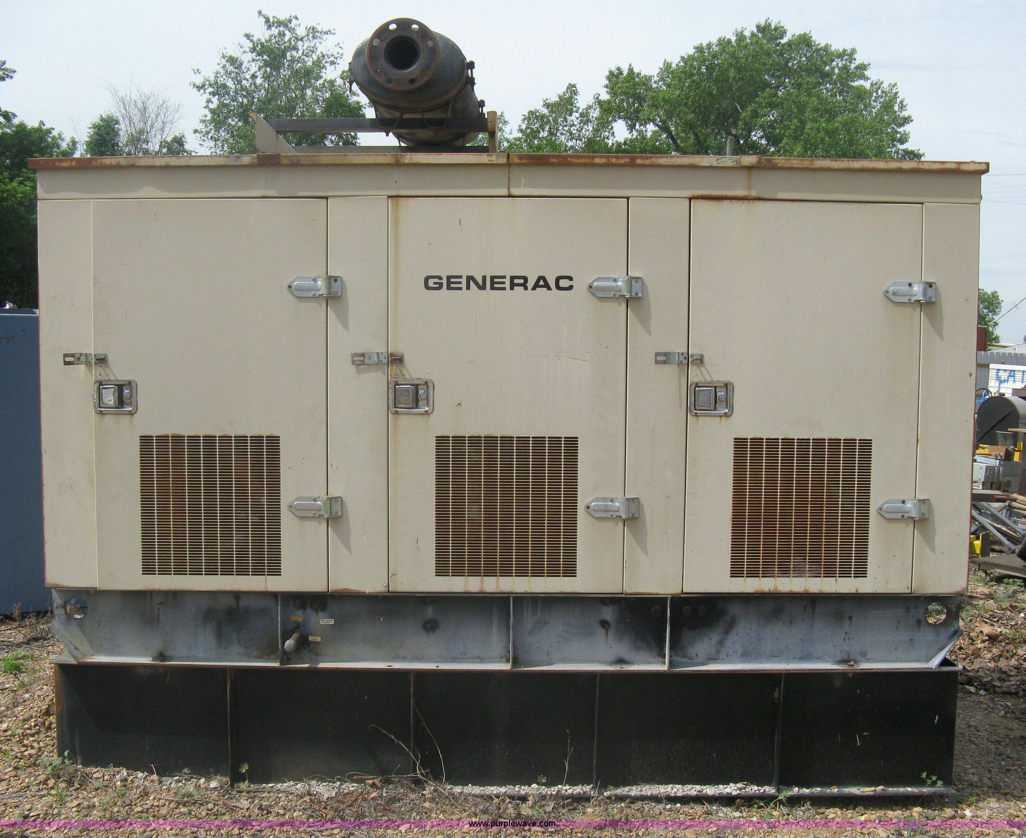 Generac sel powered generator Item A6327
