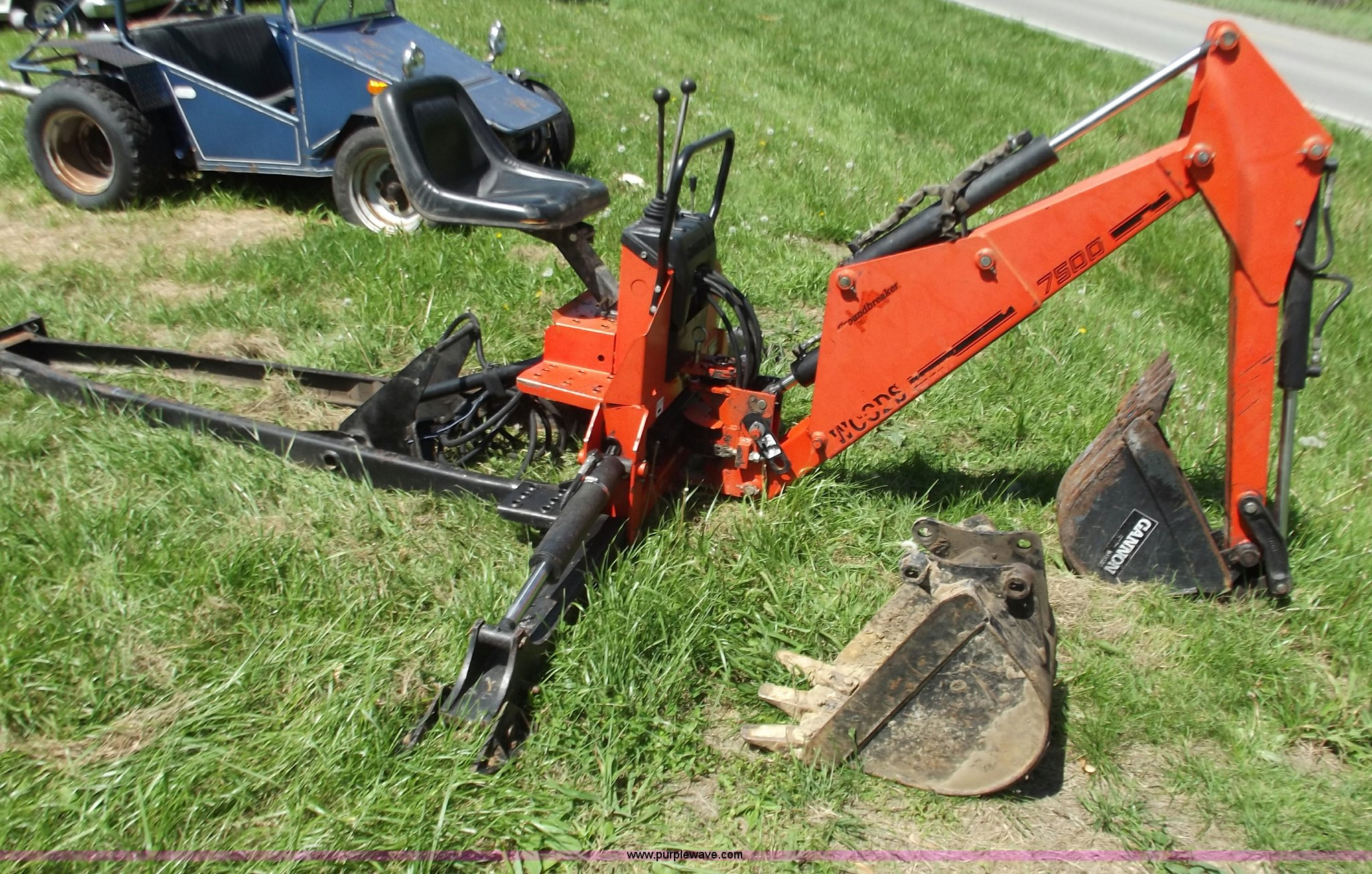 ... 7500 Woods backhoe attachment Full size in new window ...