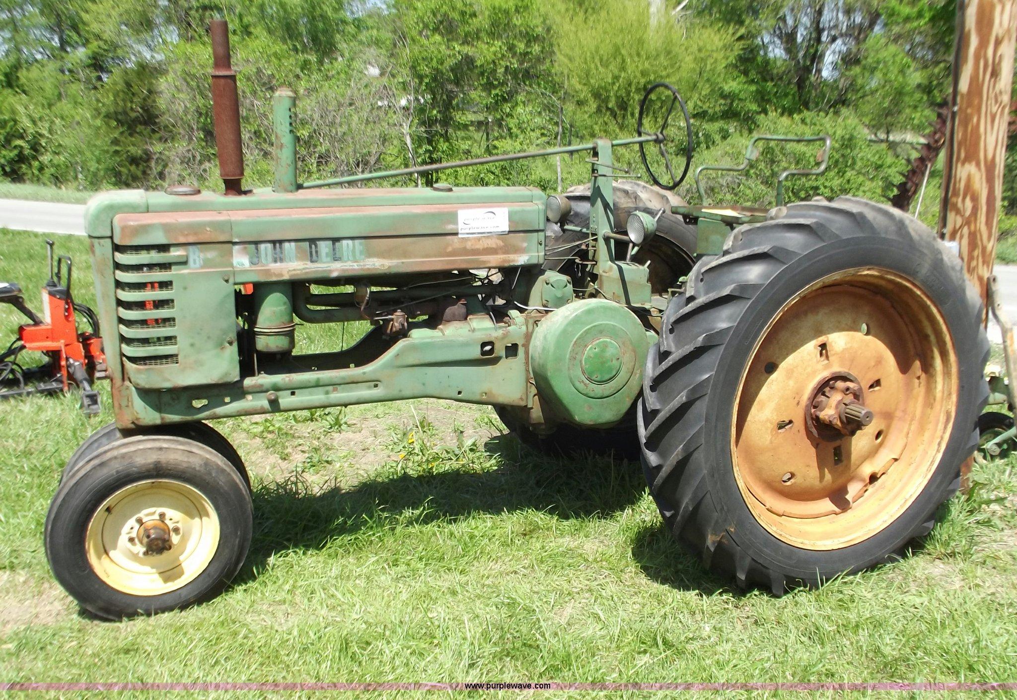 1950 john deere b tractor | item d4363 | sold! August 14 ant.
