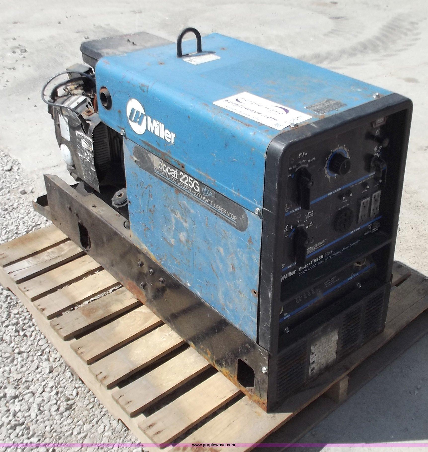 Miller Bobcat 225g Plus Welder Generator Item C2041