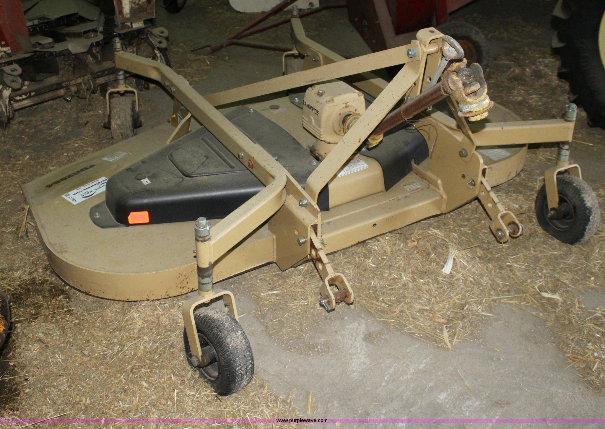 Land Pride Fdr2584 84 Quot Finish Mower Item D7821 5 16 2012