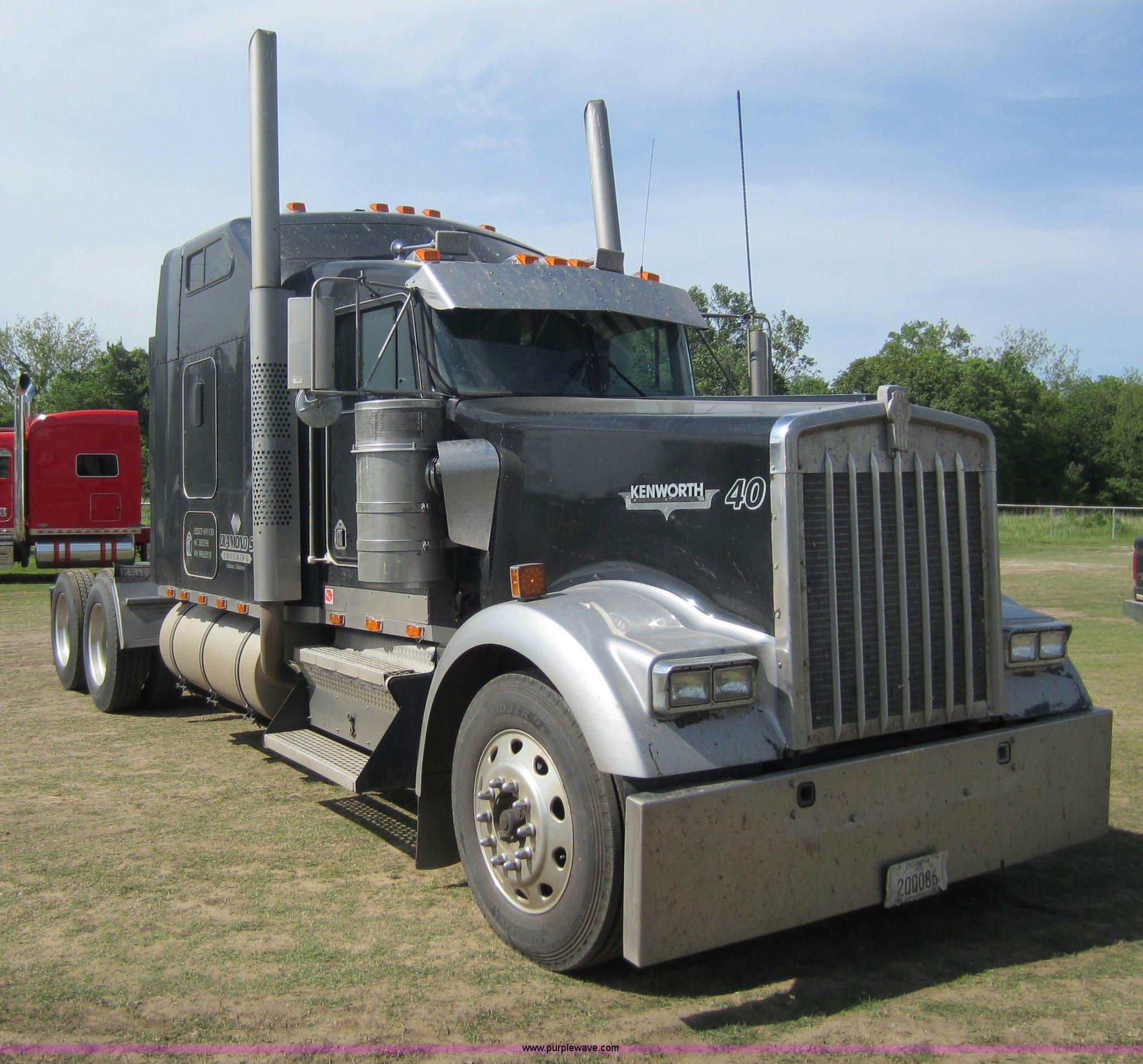 1998 kenworth w900l semi truck item c5460 sold may 22 t rh purplewave com