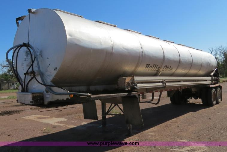 1992 Ledwell 42 Aluminum Paddle Wagon Trailer Item