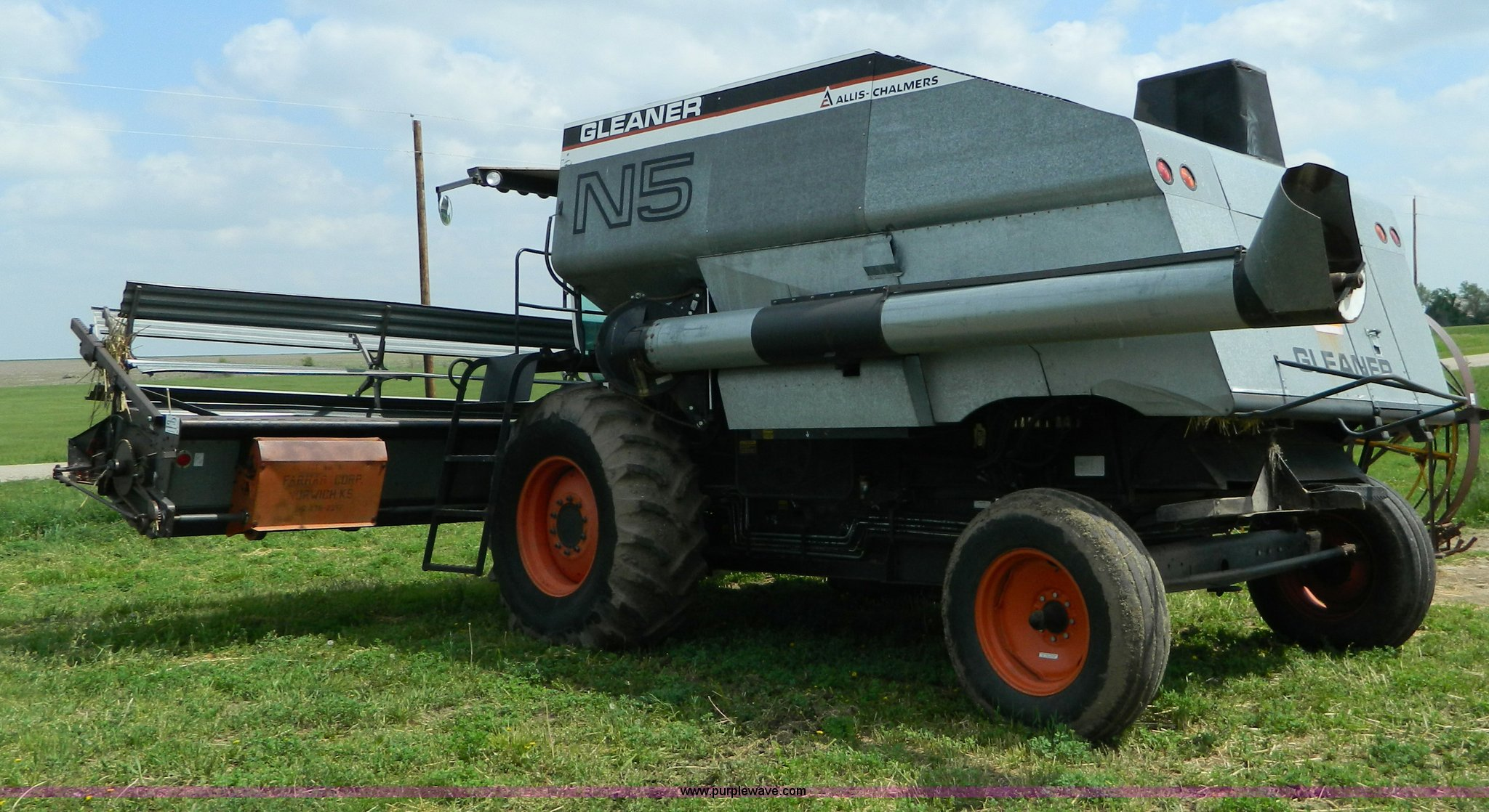 1981 allis chalmers gleaner n5 combine item b3671 sold full size in new window publicscrutiny Images