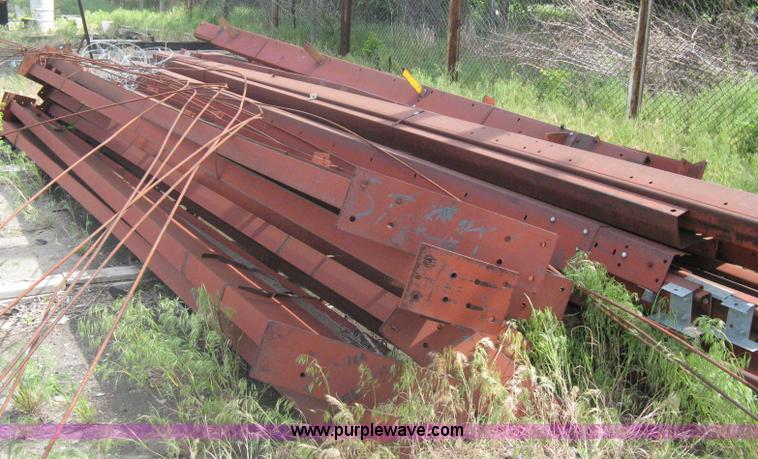 Free Span Red Iron Commercial Building Framework Item