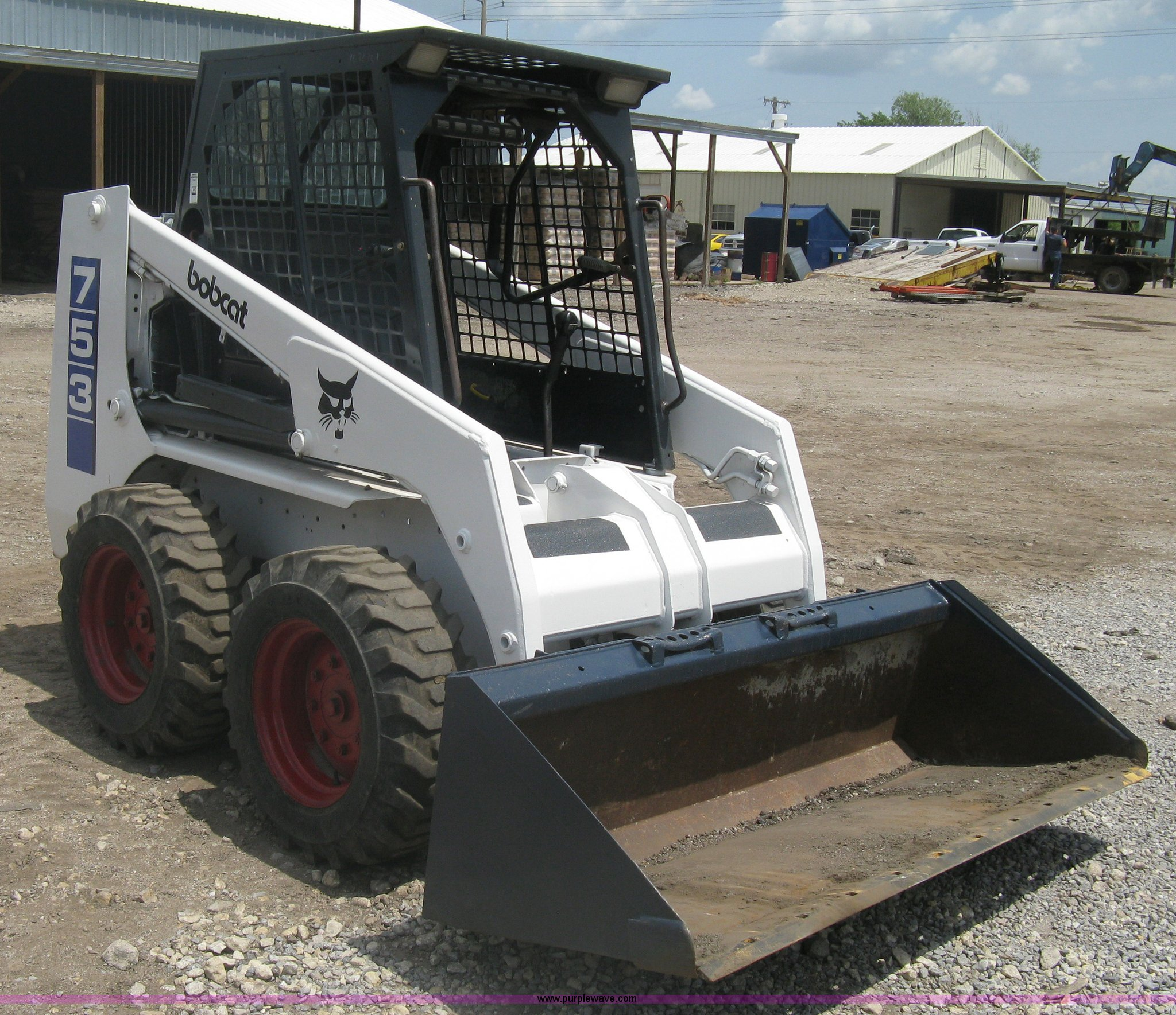1993 Bobcat 753 Skid Steer Item A6374 Sold May 31 Const
