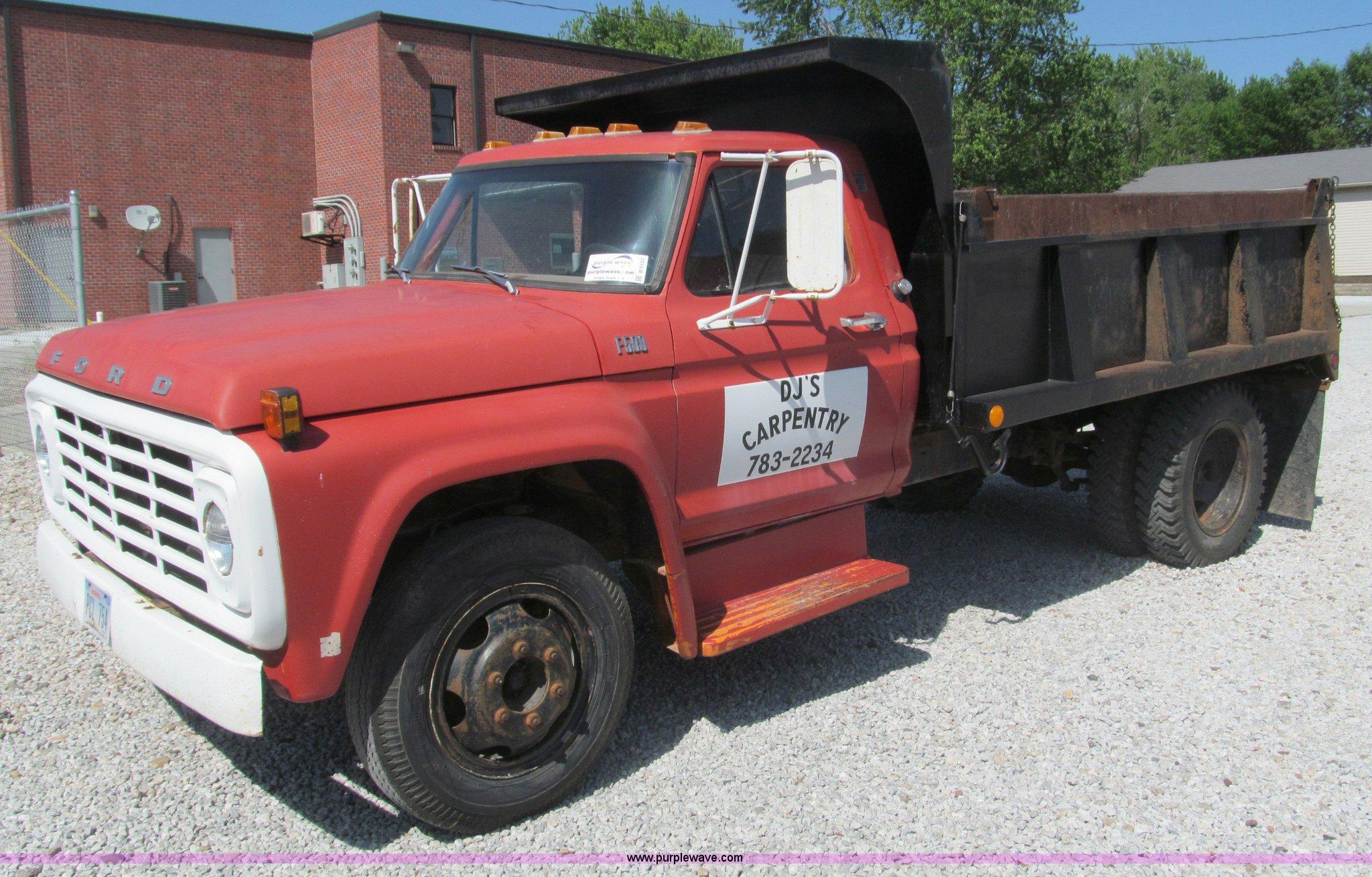 F500 Pickup 1970 Ford Truck Single Axle Dump Item Sold 2048x1310