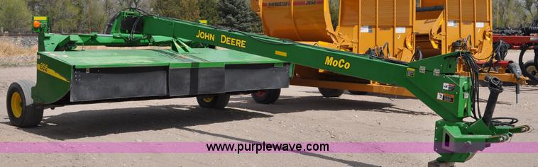 2007 John Deere 956 MoCo hydra-swing swather | Item A5904 |
