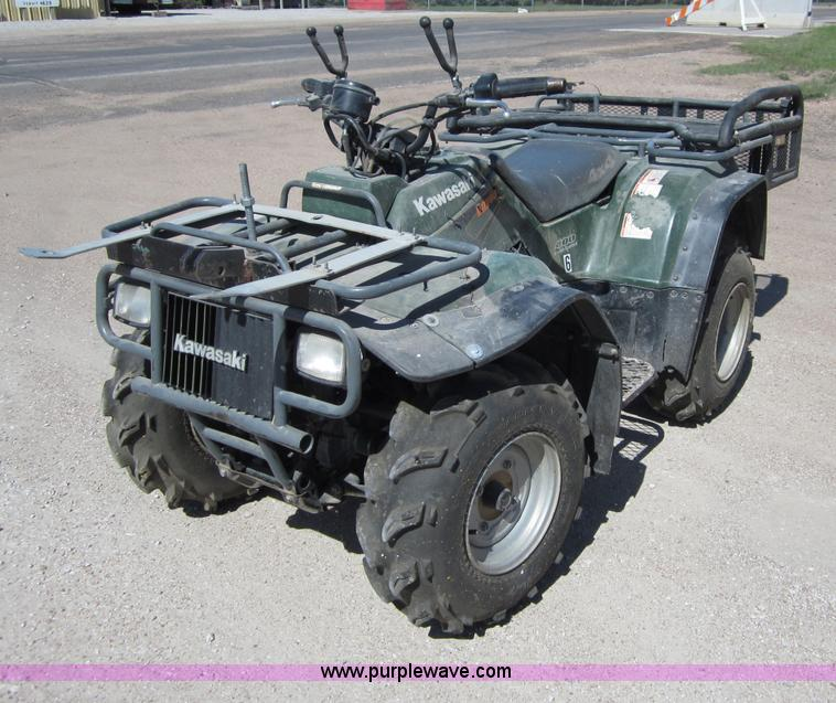 1999 kawasaki bayou atv | item b3203 | sold! june 5 governme