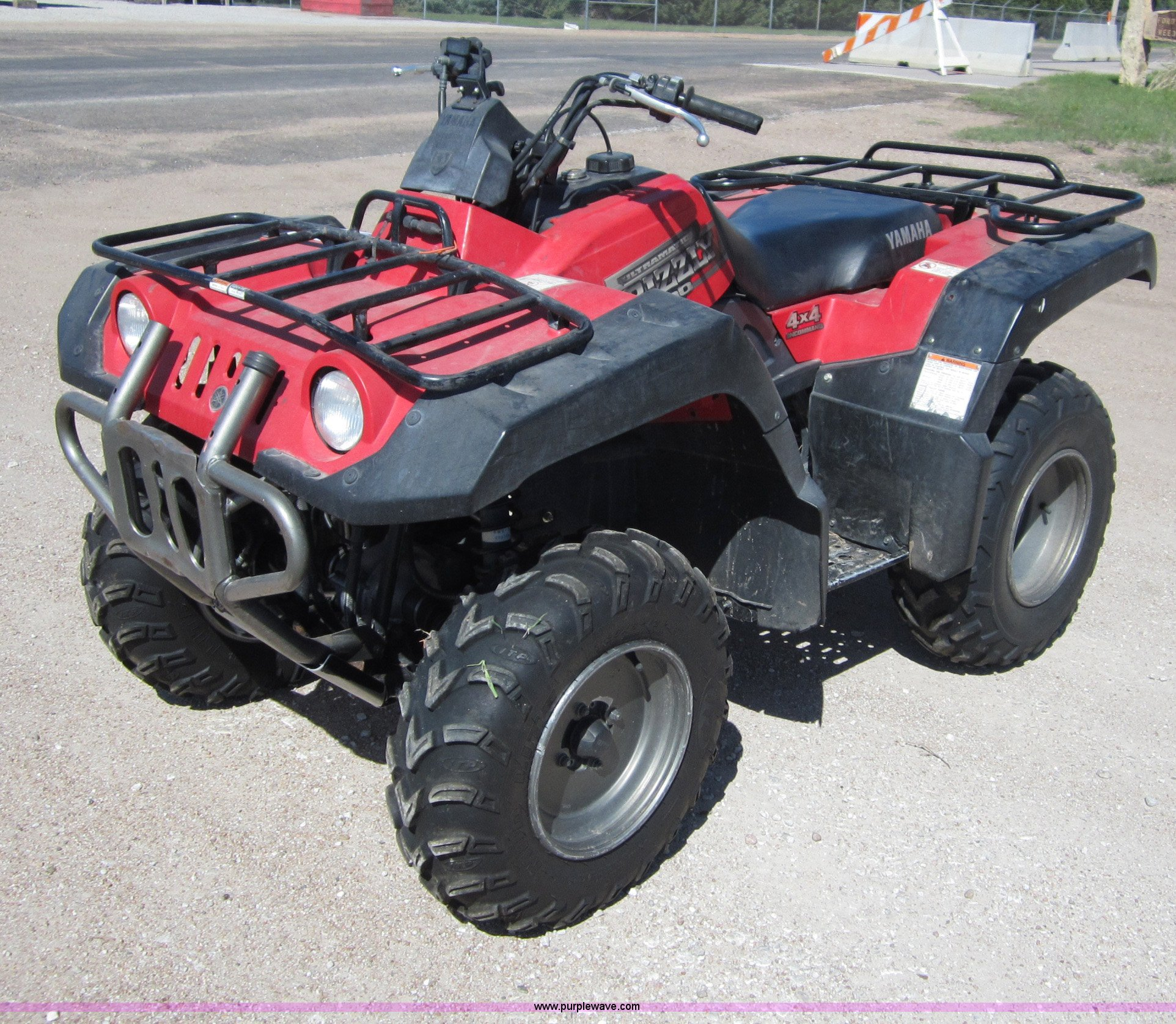 Yamaha Grizzly 600 Atv For Sale 1998 Ultramatic Wiring Diagram B3202 Image Item 2001