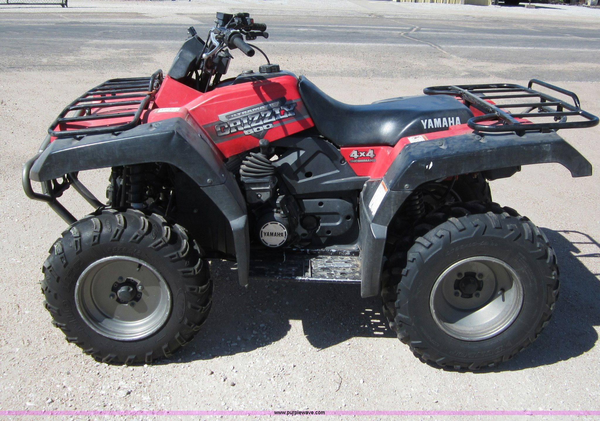 2001 yamaha grizzly 600 atv item b3202 sold june 5 for Yamaha grizzly 600