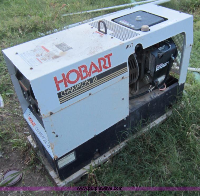 Hobart Champion 16 Welder Generator Item V9106 Sold