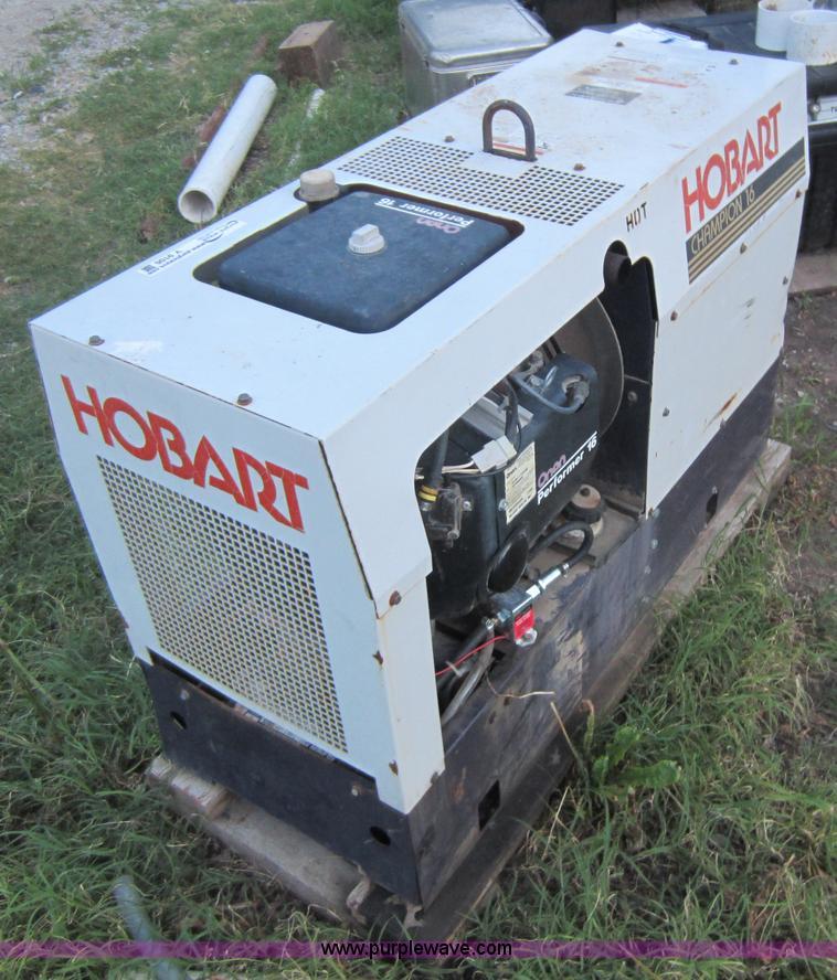 Hobart Champion 16 welder/generator | Item V9106 | SOLD! Jun