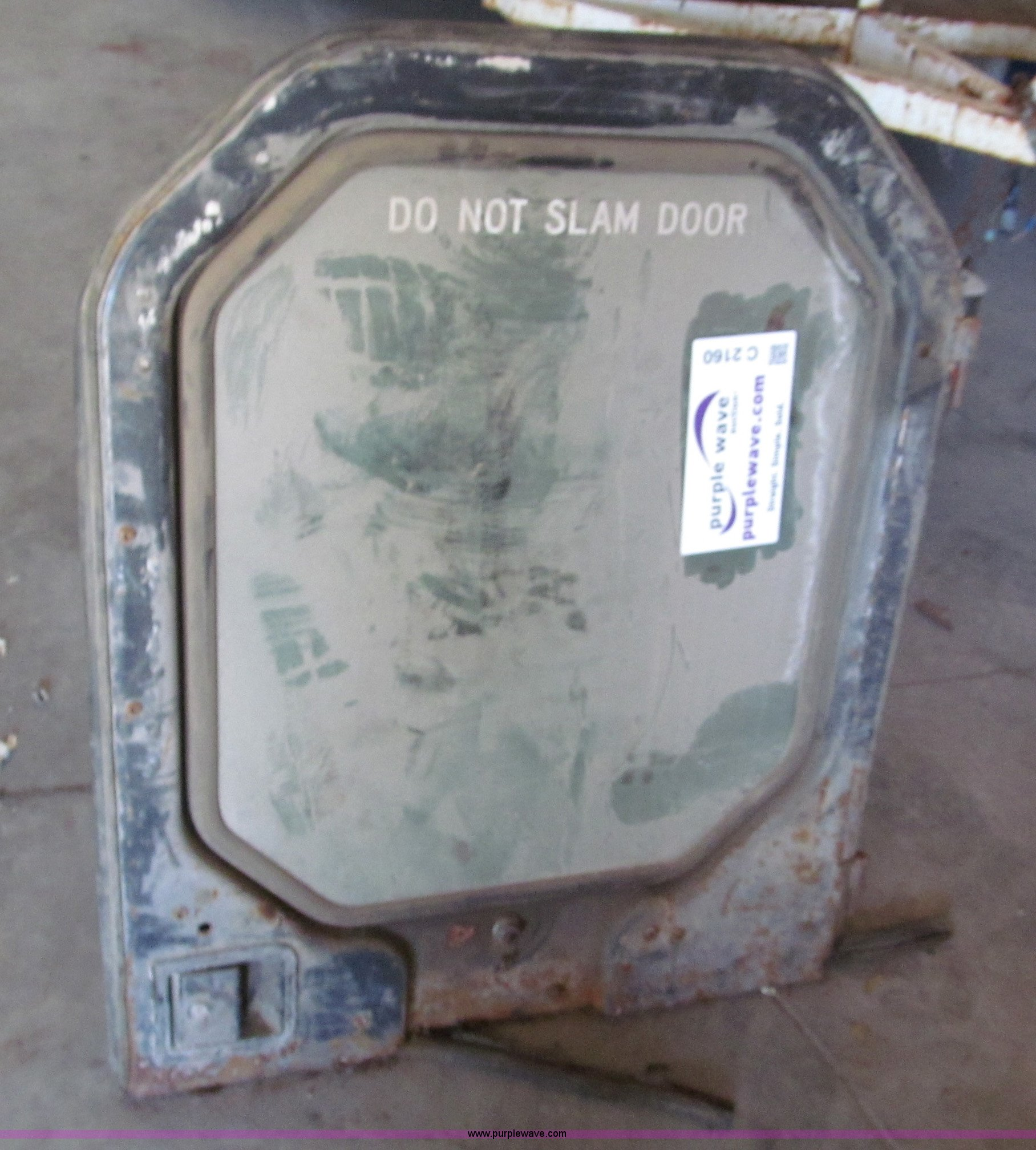 Full size in new window ... & Bobcat 763 door | Item C2160 | SOLD! June 13 Midwest Auction...