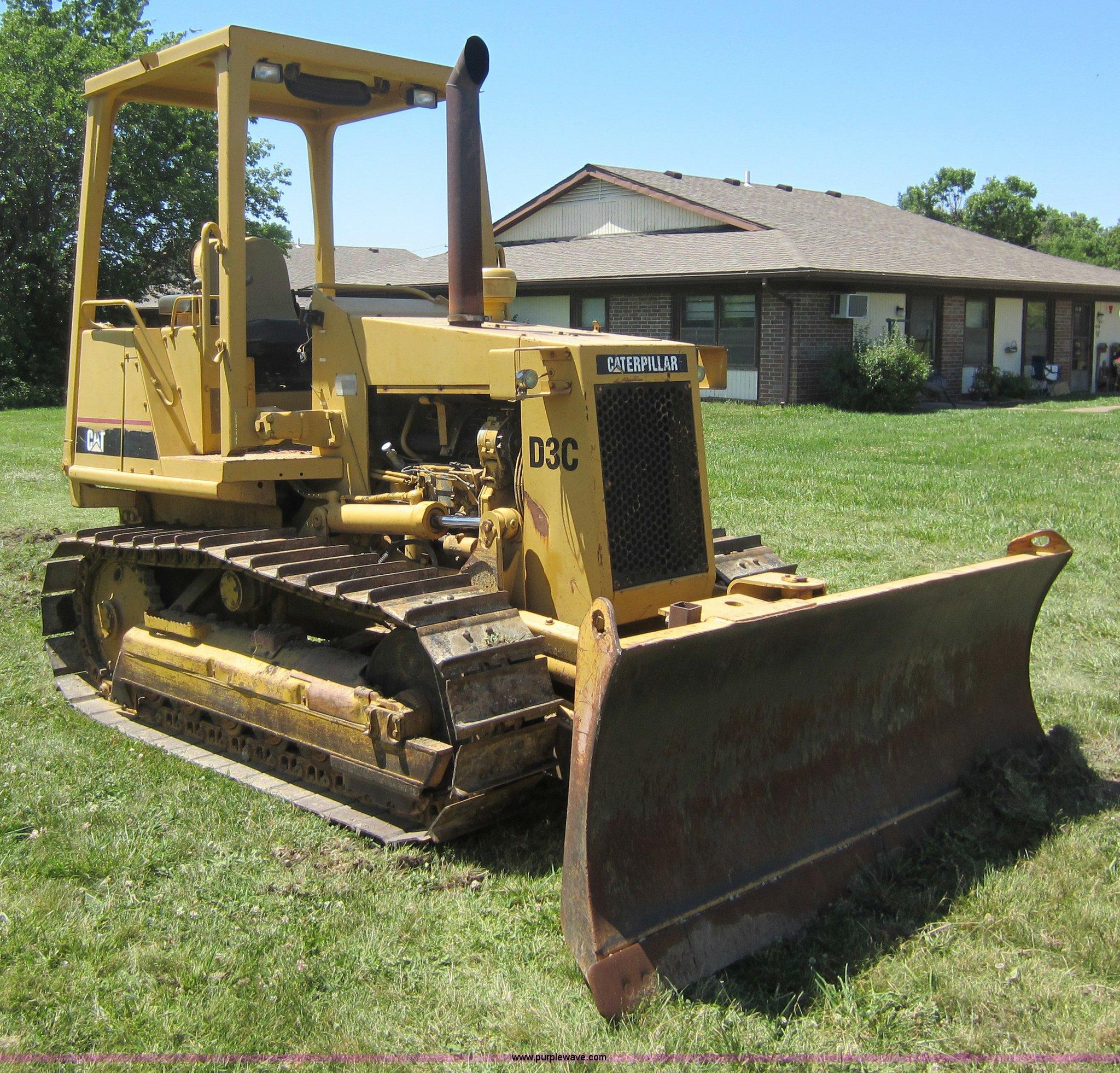 1989 Caterpillar D3C dozer | Item D5541 | SOLD! June 14 Cons