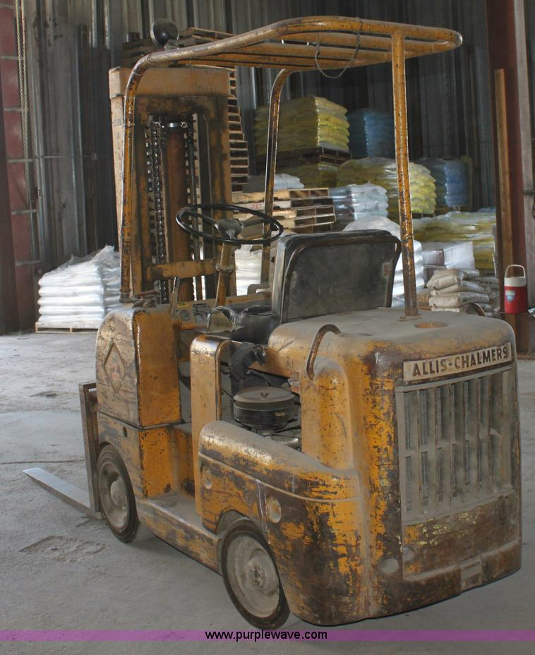 Allis-Chalmers FT40-24 forklift | Item D5088 | SOLD! June 27