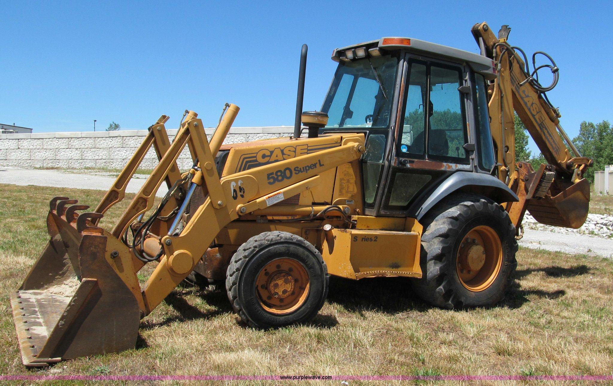 C2238 image for item C2238 1999 Case 580 Super L ...
