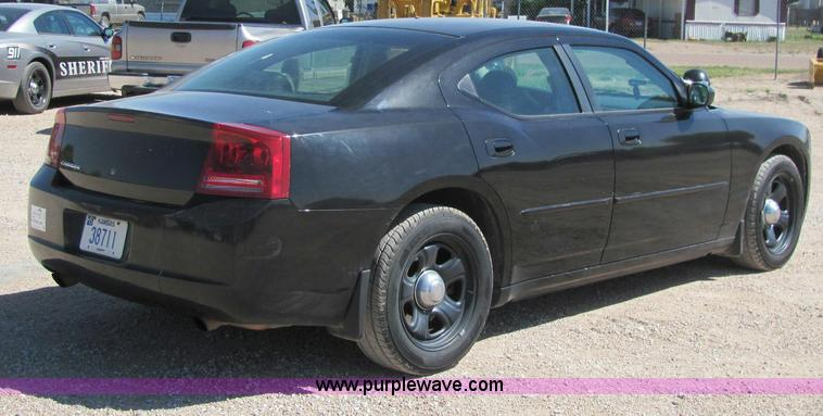 2007 Dodge Charger police car in Sublette, KS | Item C2569