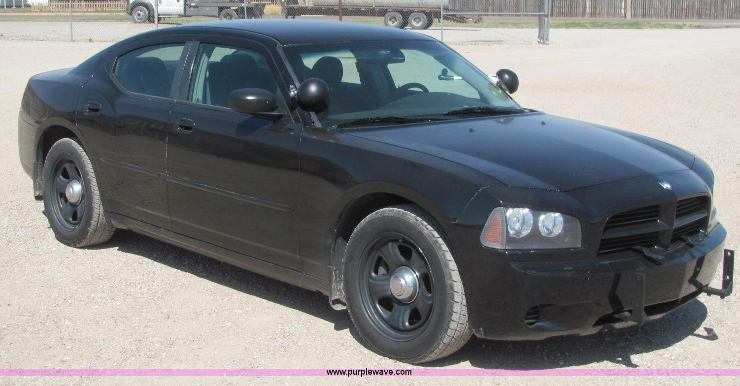 2007 Dodge Charger Police Car Item C2569 Sold July 10 G