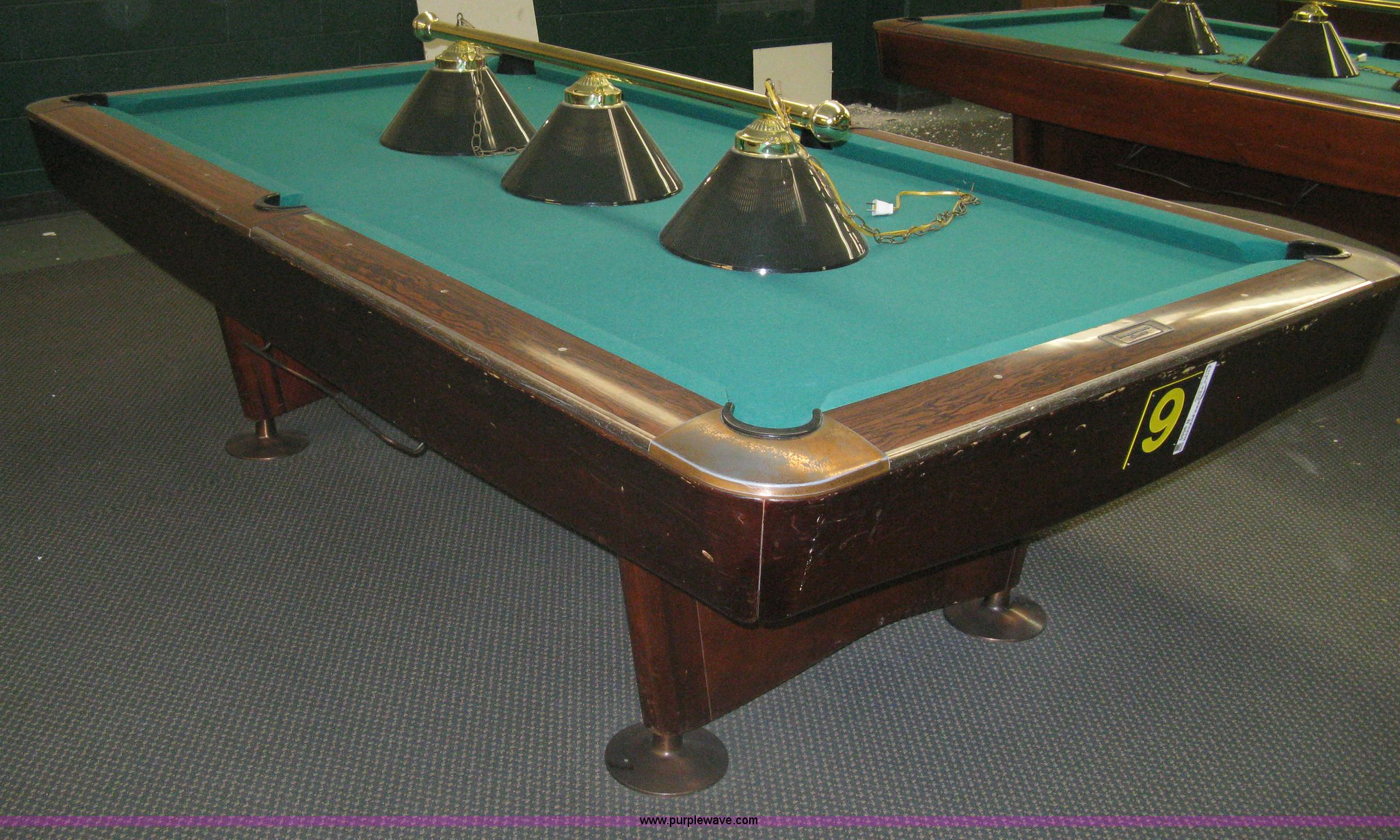 ... Pro 8u0027s Gold Crown Commercial Pool Table Full Size In New Window ...