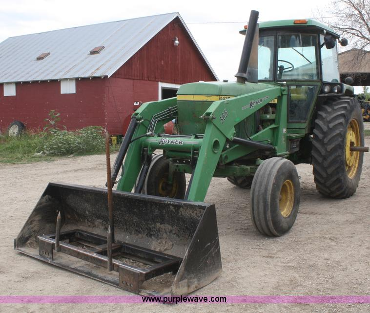 1974 John Deere 4430 tractor | Item B6729 | SOLD! July 11 Ag