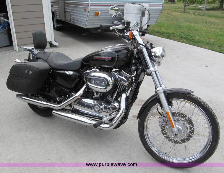 2009 Harley Davidson 1200 Custom Sportster motorcycle   Item...