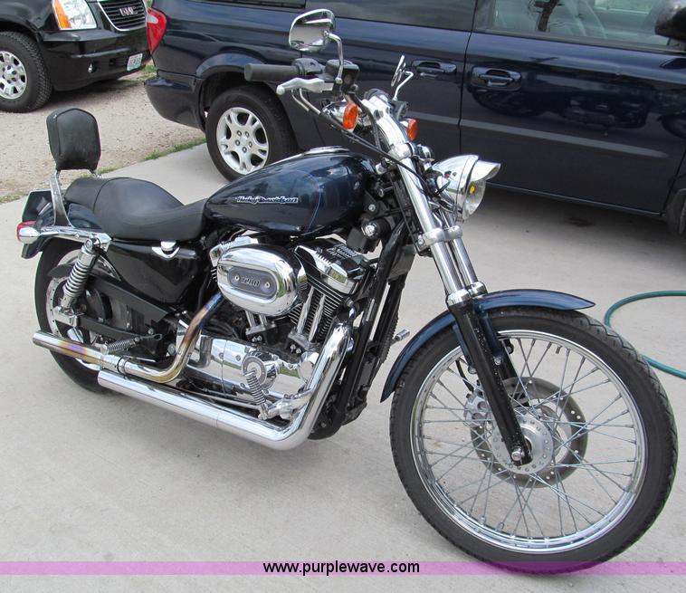 2004 harley davidson 1200 custom sportster motorcycle item. Black Bedroom Furniture Sets. Home Design Ideas
