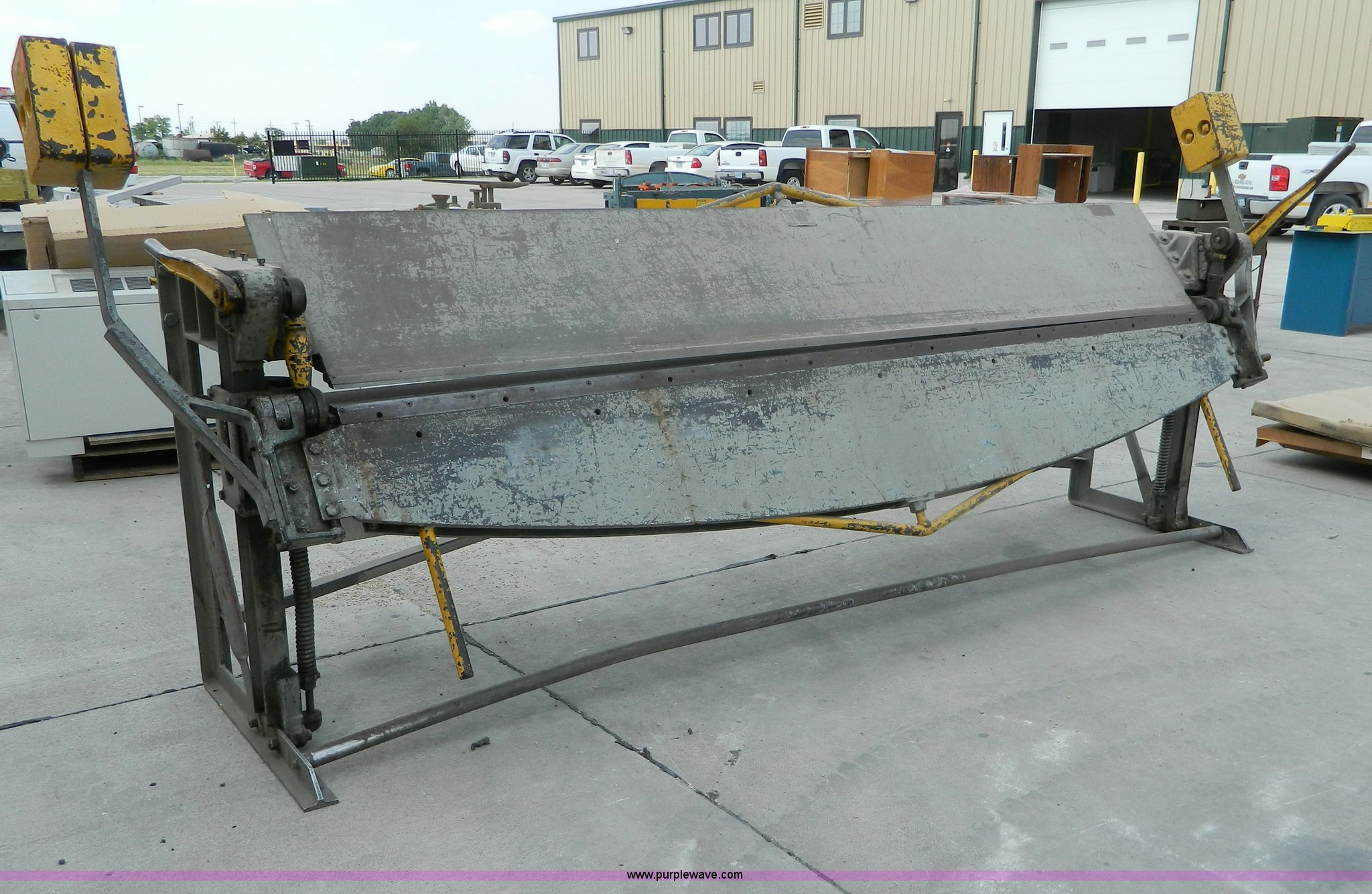 Metal Brake For Sale >> Whitney Jensen 10 Sheet Metal Brake Item M9831 Sold Ju