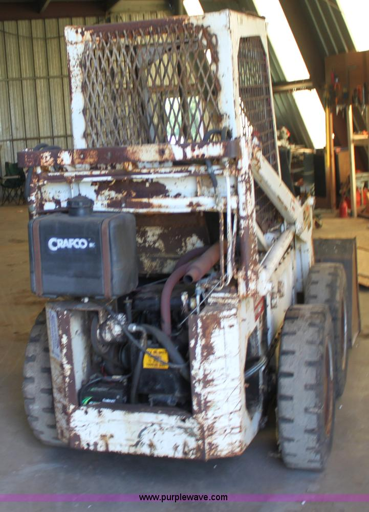 Melroe Bobcat M600 skid steer | Item D7838 | SOLD! July 12 C