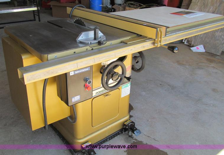 powermatic 66 table saw item a8358 sold wednesday july rh purplewave com powermatic 66 table saw price powermatic 66 table saw craigslist