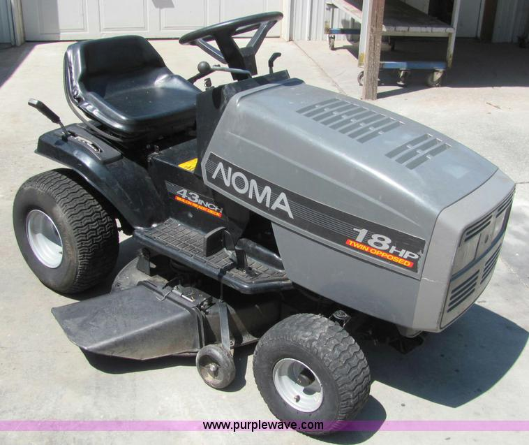 L9877 image for item L9877 Noma lawn mower