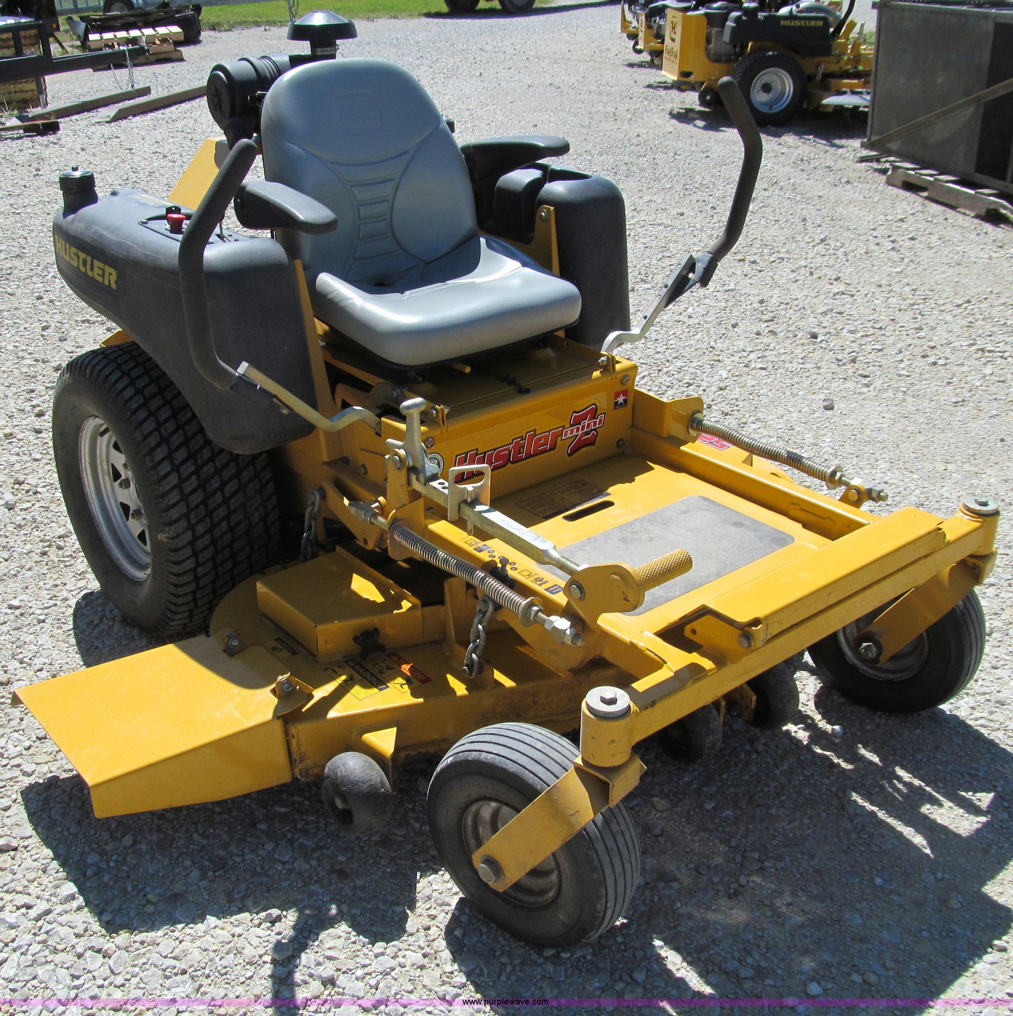 Serial 52-249406 hustler z mower