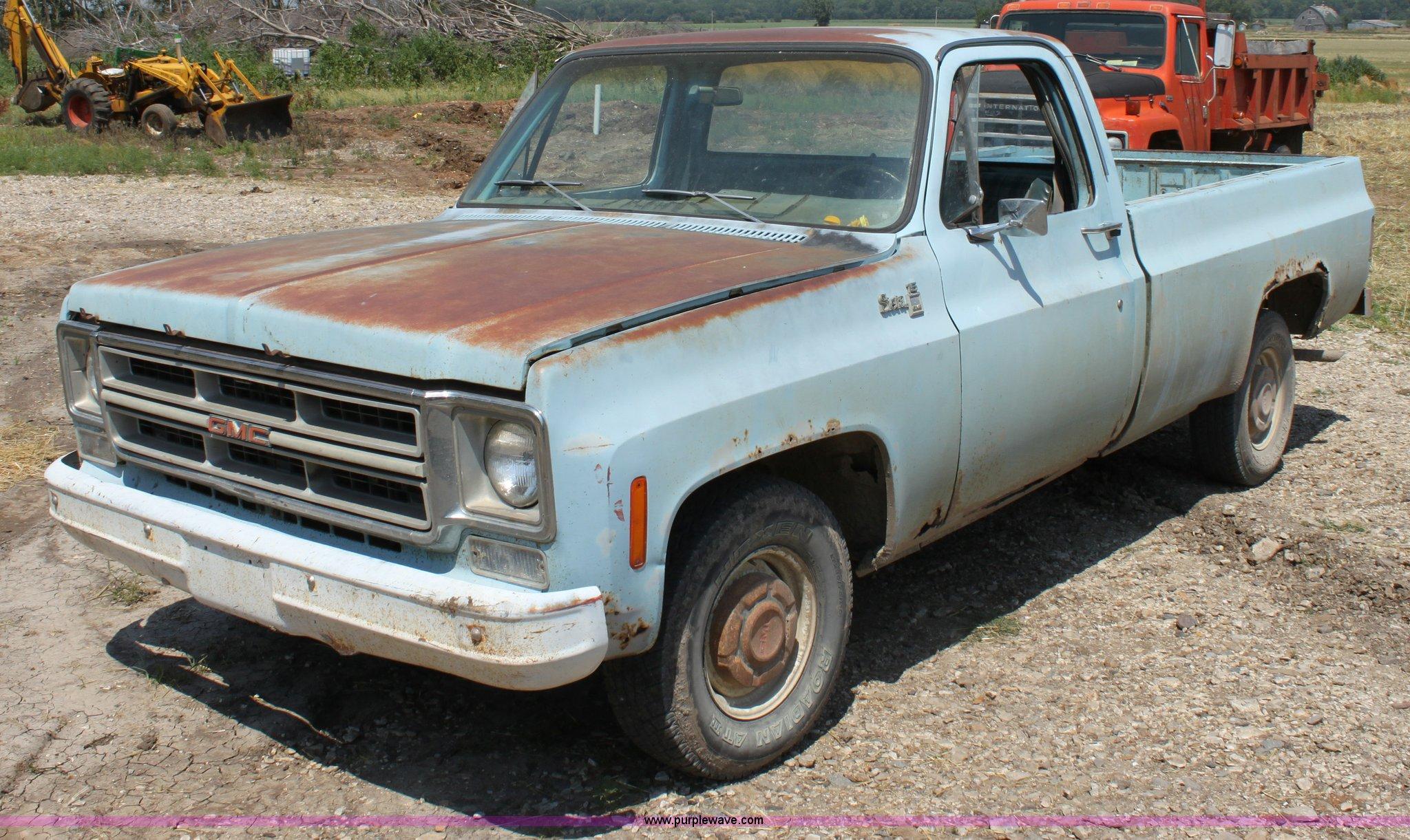 1976 Gmc Sierra 15 Pickup Truck