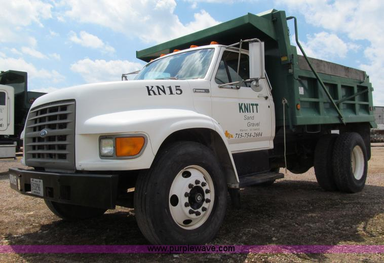 1996 Ford F850 Dump Truck Item A7520 Sold Thursday July