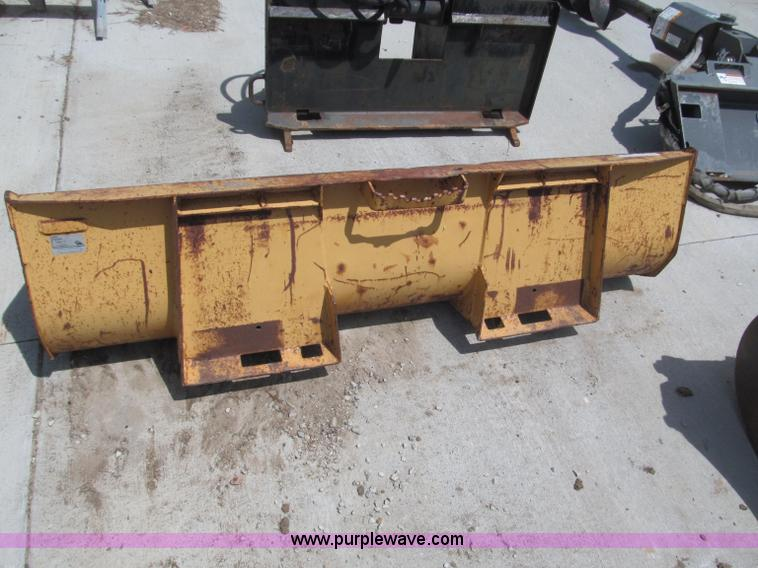 72 Quot Skid Steer Bucket With Bolt On Tooth Bar Item K95