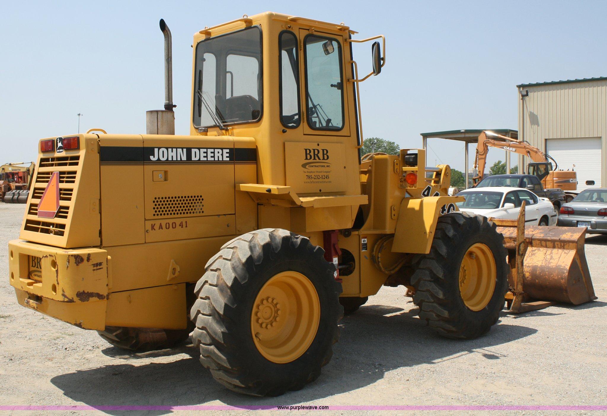 ... John Deere 444G wheel loader Full size in new window ...