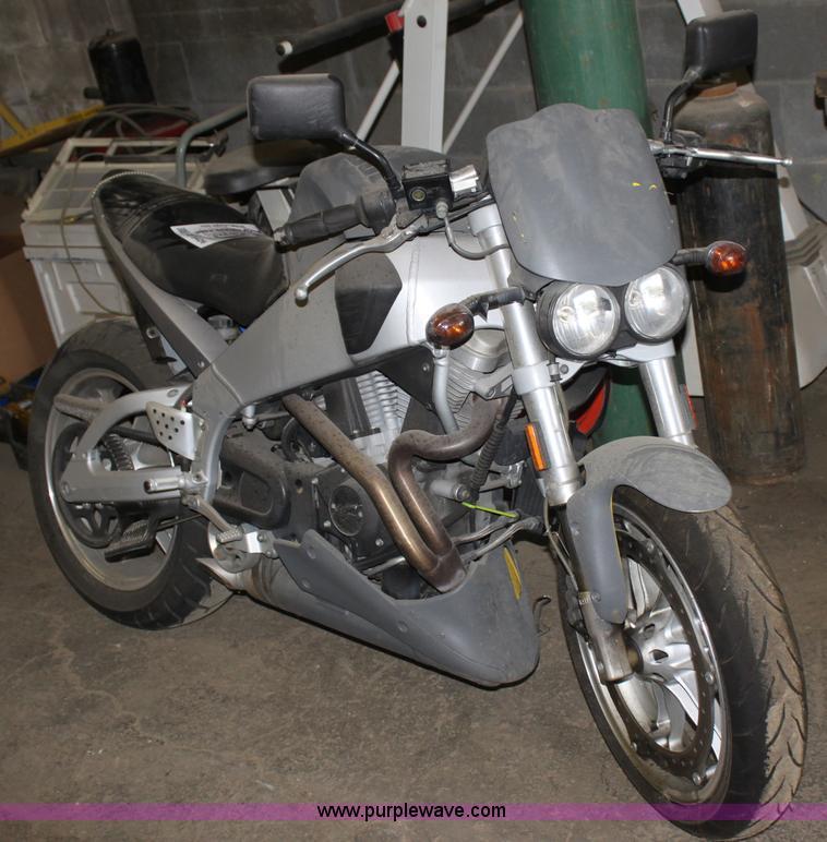 2003 Buell Lightning XB9S motorcycle   Item D5426   SOLD! Tu
