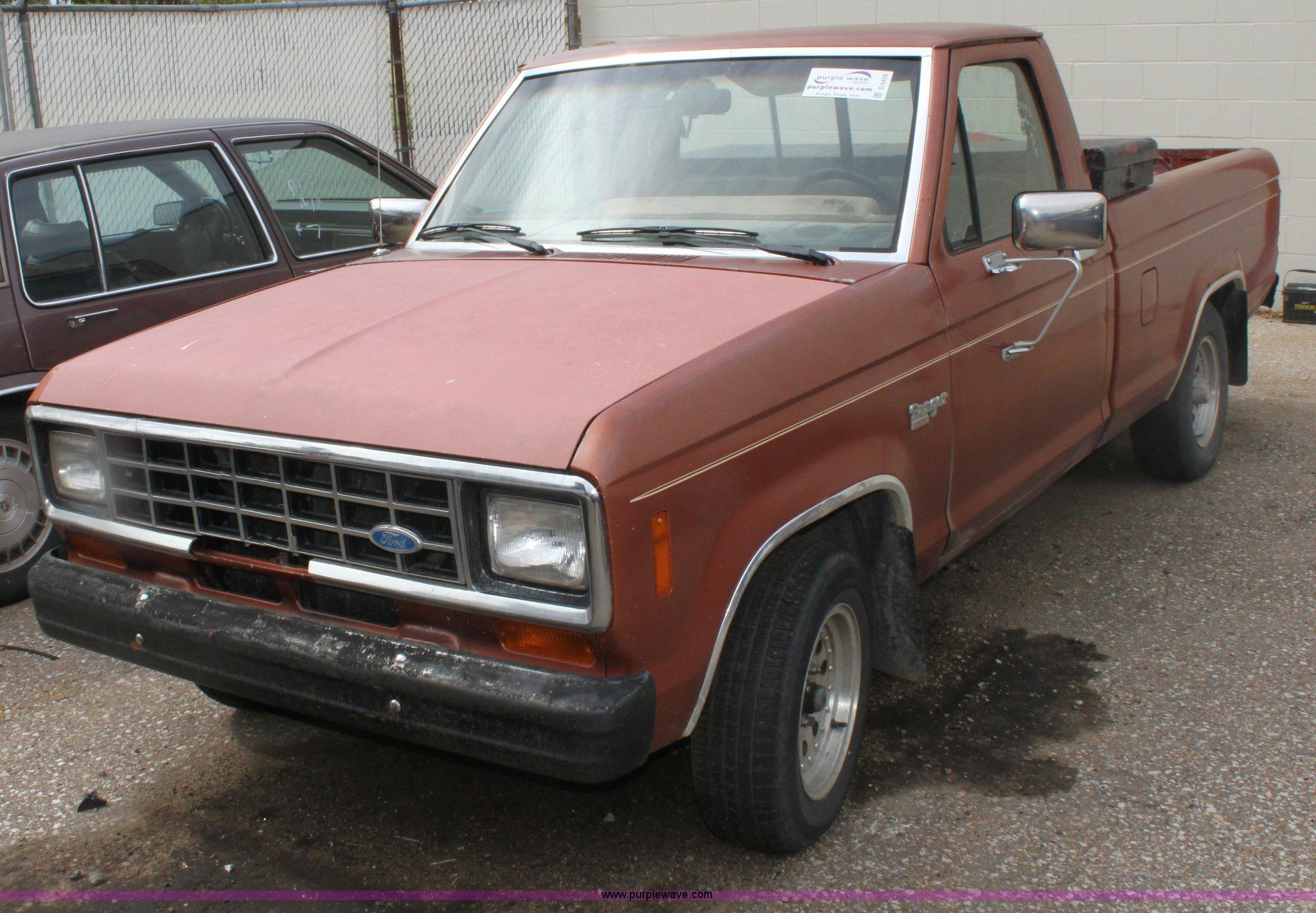 1984 ford ranger xl pickup truck item d5459 sold tuesda. Black Bedroom Furniture Sets. Home Design Ideas