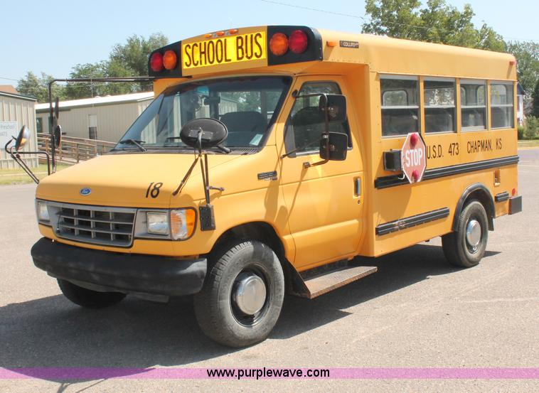 1996 Ford E350 Econoline School Bus Item C2720 Sold