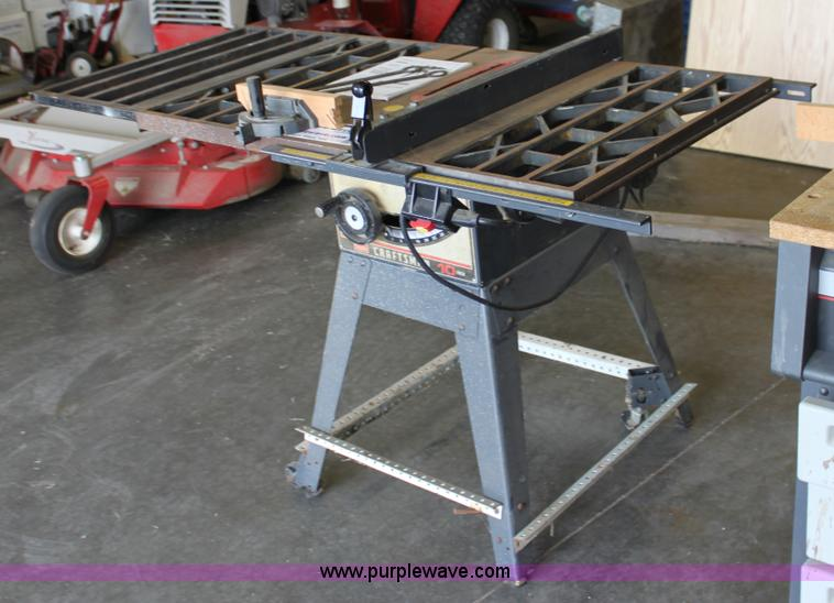 Sears craftsman 10 table saw item d5396 sold tues for Sears table saw motor