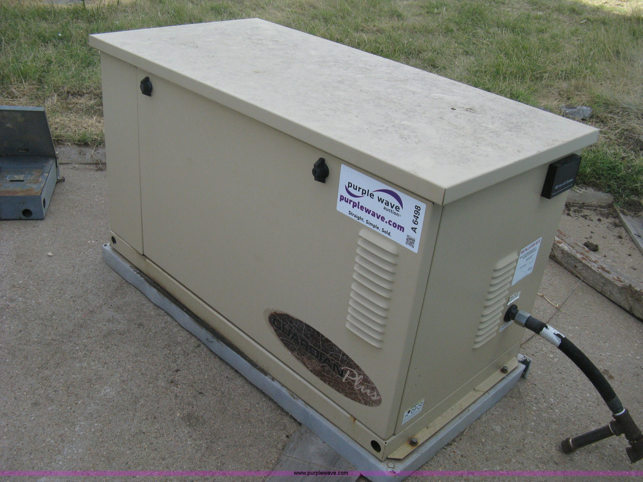Generac Guardian Plus backup generator Item A6498