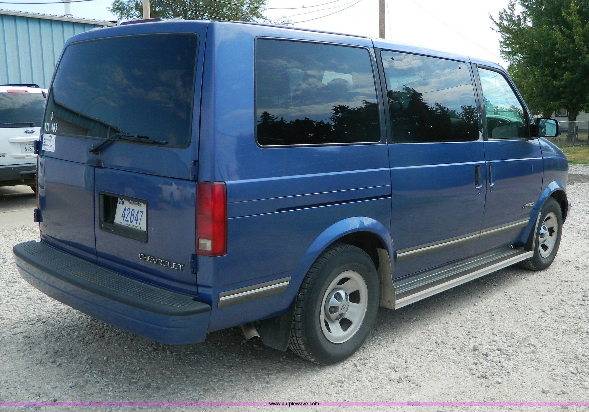 1996 Chevrolet Astro Van Item B3814 Sold Tuesday August Chevy 4 3 Liter Engine For Full Size In New Window