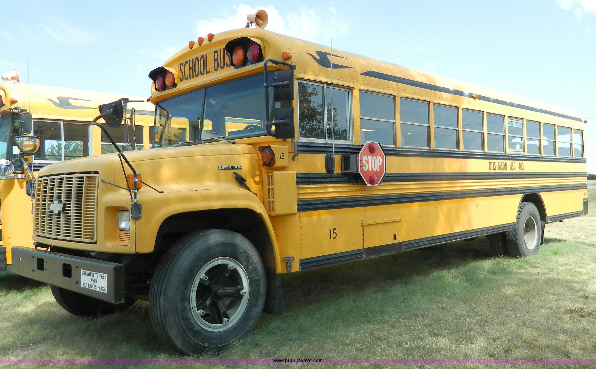 ... Blue Bird B7 school bus Full size in new window ...