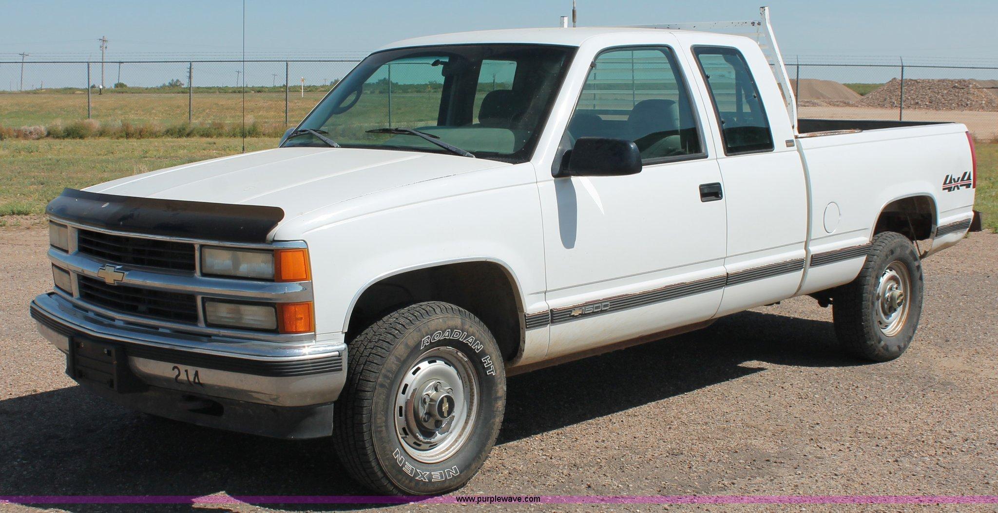 1995 Chevrolet Silverado 1500 Extended Cab Pickup Truck It