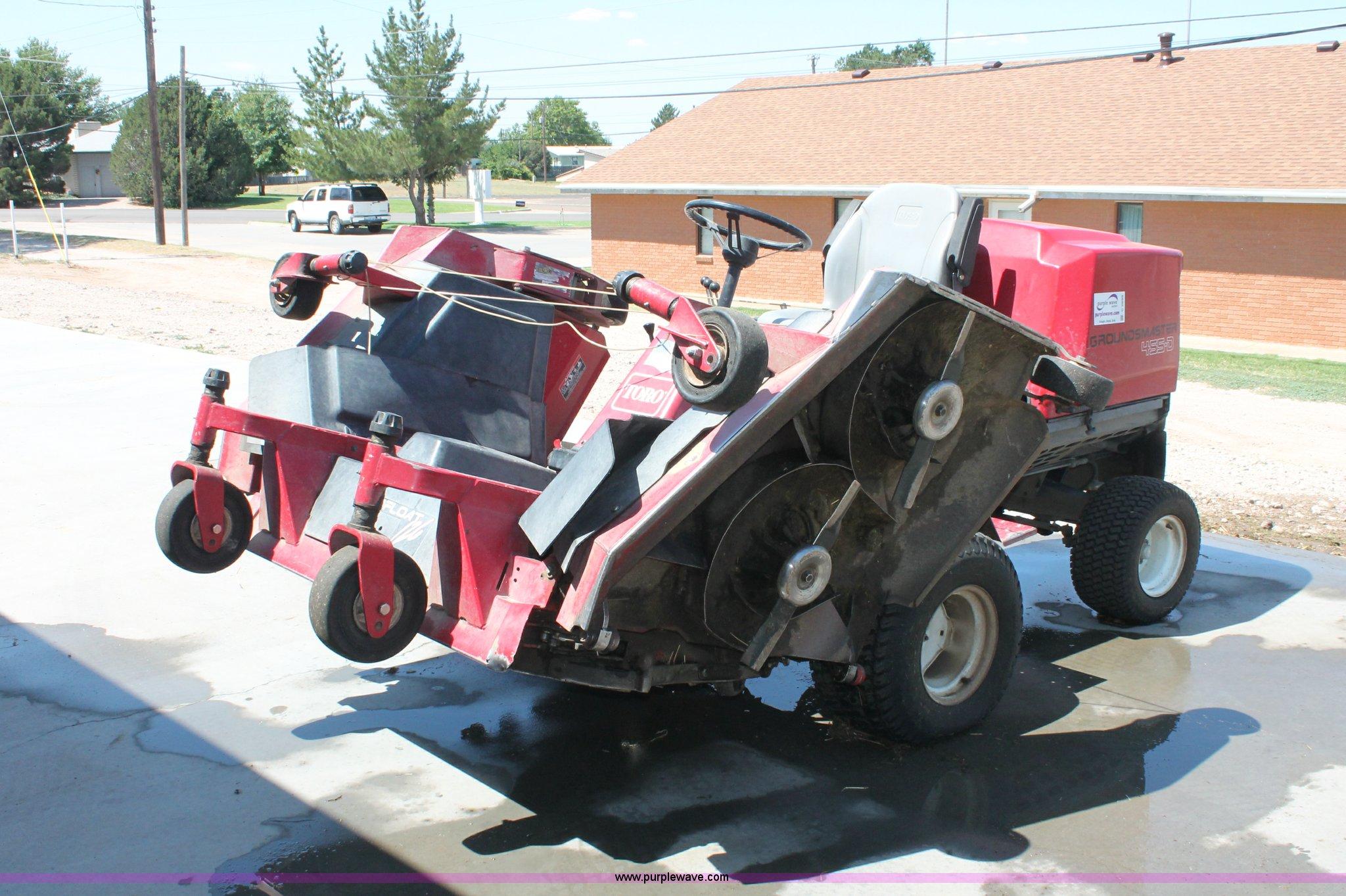 Toro GroundsMaster 455-D lawn mower | Item C2699 | SOLD! Tue